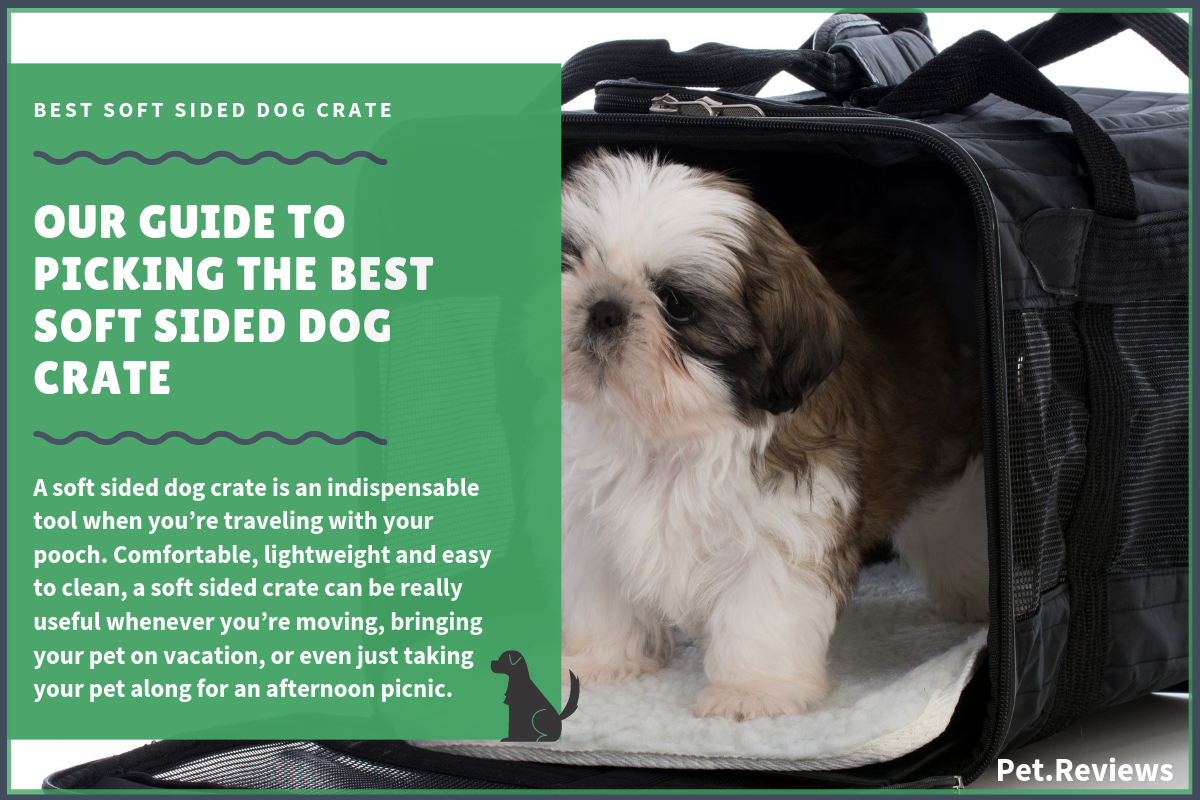 9 Best Soft Dog Crate For Large Small Dogs In 2020